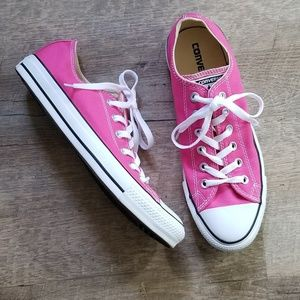 Converse Chuck Taylor All Star Pink Low Tops Shoes